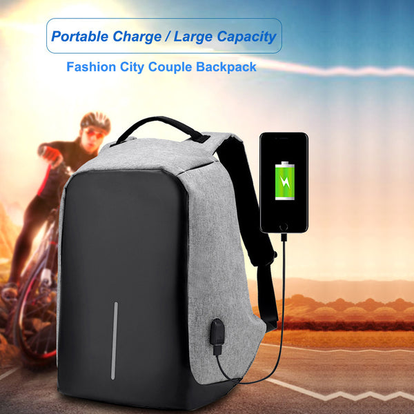 Multifunctional New Fashion Anti-theft USB charging And Travel Backpack