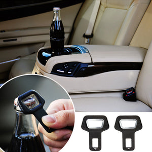 Car Seat belt buckle Mounted Bottle Openers