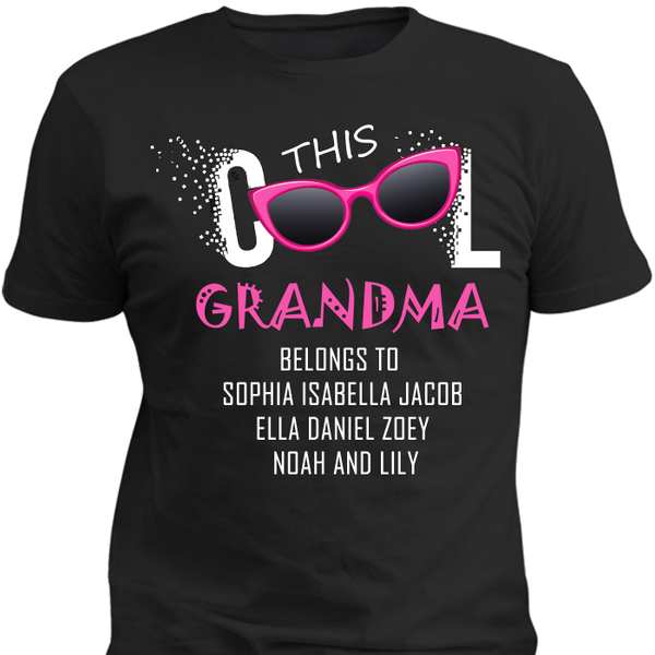 This  Cool Grandma Tshirt