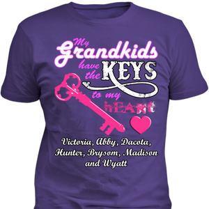My Grandkids Have The Keys To My Heart