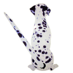 3D Car Stickers Dalmatian Dog Reflective Car Styling Window