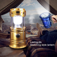 6 LED's Portable Lamp Rechargeable Camping Lantern Light