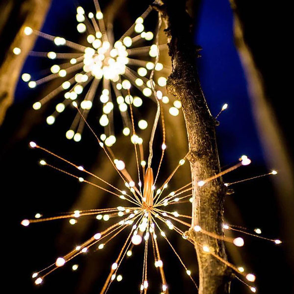 200LEDs LED Firework String Lights Remote Control