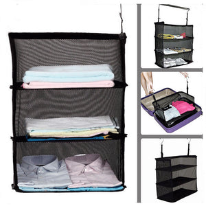3 Layers Portable Travel Storage Rack