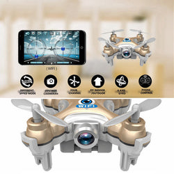 WiFi Drones Camera Quadcopter Headless Mode Remote Control Drone