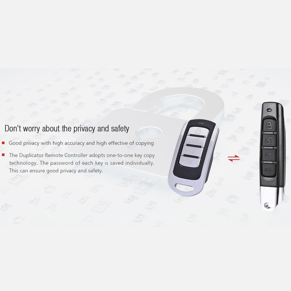 Car Door Opener Cloning Duplicator Remote Controller