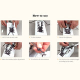 2PCS Convenient Practical Magnetic Shoelace