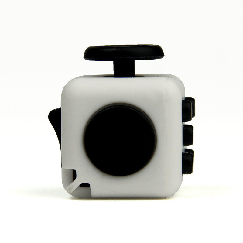 Mini Fidget Cube Click Flip Spin Stress Release Magic Cube