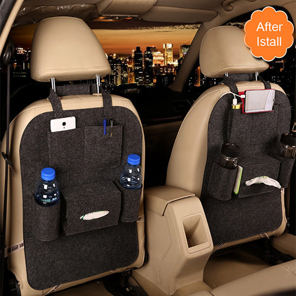 Car Seat Multi-Pocket Storage Waterproof Bag