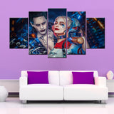 Suicide Squad 5 Piece Canvas Wallart - HD Quality