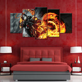 Ghost Rider 5 Peace Canvas Wallart - HD Quality