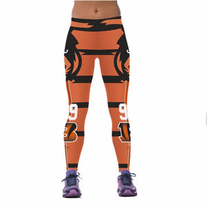 7810b5c3 New Arrival Cincinnati Bengals Sports Leggings For Women – OffersPlace