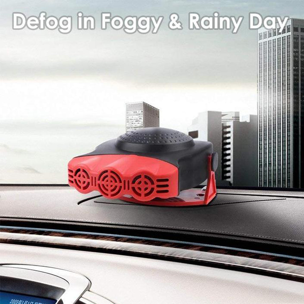 Defrost and Defog Car Heater Cooling Fan