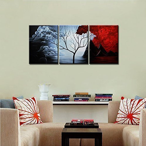 Wall Decor Landscape Paintings on Canvas - HD Quality