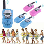 2Pcs Children's Walkie Talkie Wireless Call Parent-child Interaction