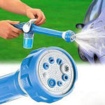 8 in 1 Jet Water Spray Gun for car wash and garden
