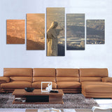 Brazil Cristo Redentor Picture 5 Piece Canvas Wallart - HD Quality