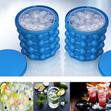 Ice Cube Maker Genie - The Revolutionary Space Saving Ice Cube Maker