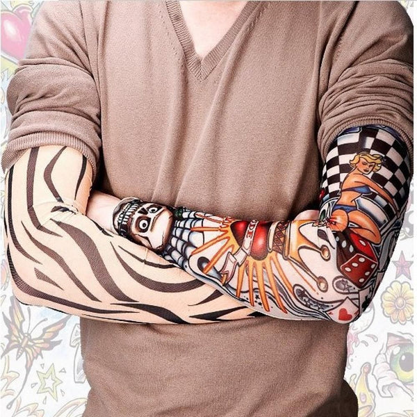 6PC Tattoo Arm Sleeves Kit Colletion - Unisex Style