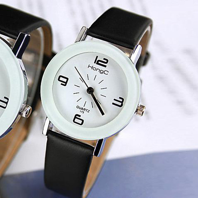 Quartz Fashionable Unique Leather Watch