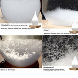 Hot Weather Forecast Storm Glass Crystal