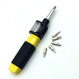 Pocket Precision Screwdriver Bit 360 Twist-Bit 6 in 1 Screwdriver