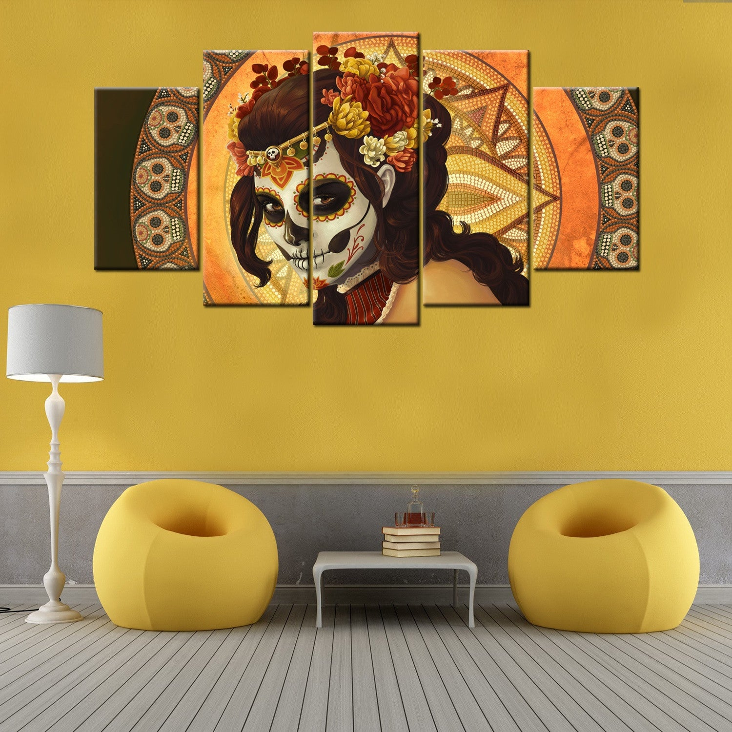 New 40+ Day Of The Dead Wall Art Inspiration Design Of Aliexpress ...