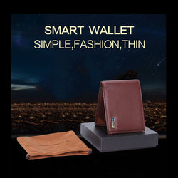 Smart Wallet With GPS, ALARM, Voice Recording
