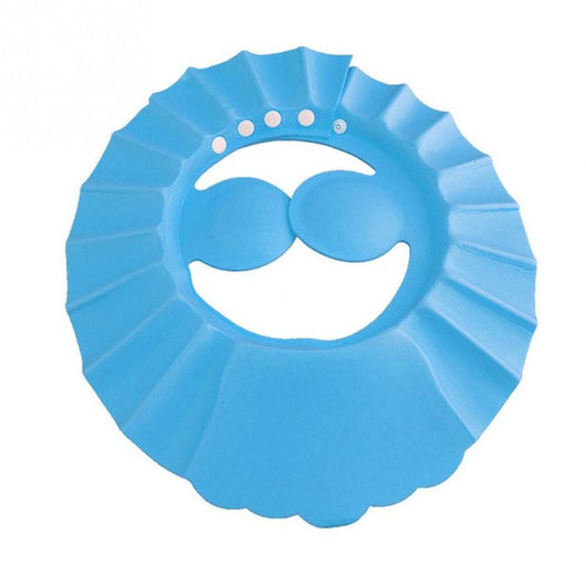 Adjustable Soft Bath Shower Cap For Kids Head