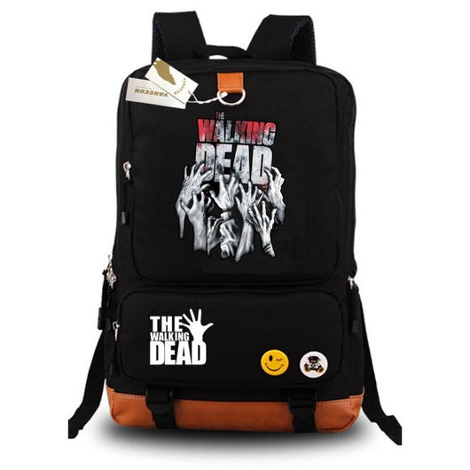 Walking Dead Backpack Hogwarts School Bags - High Quality