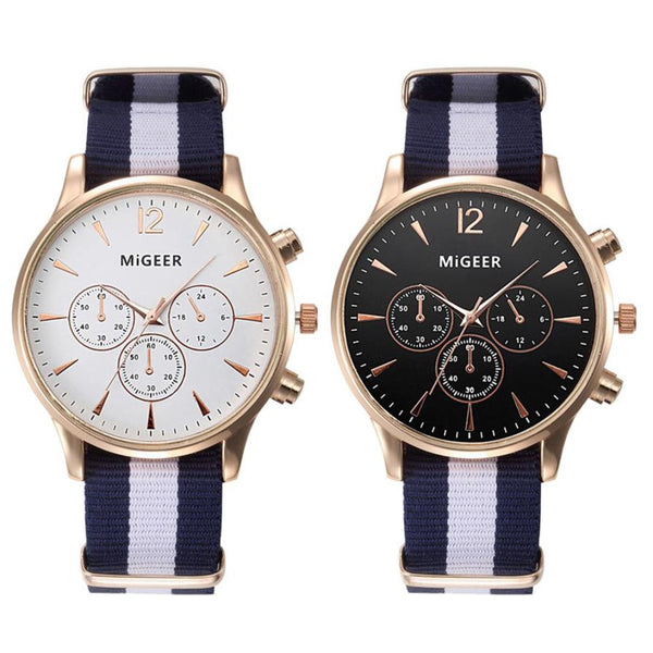 Fashion Strap Watch Men Quartz Watch