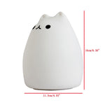 Cute Kitty LED Silicone Cat Lamp Flashing