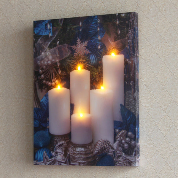 3D effect Candle Lighting LED - Perfect Christmas Gift