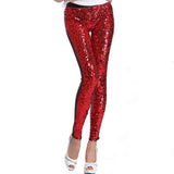 Fashion European Glitter Leggings For Women