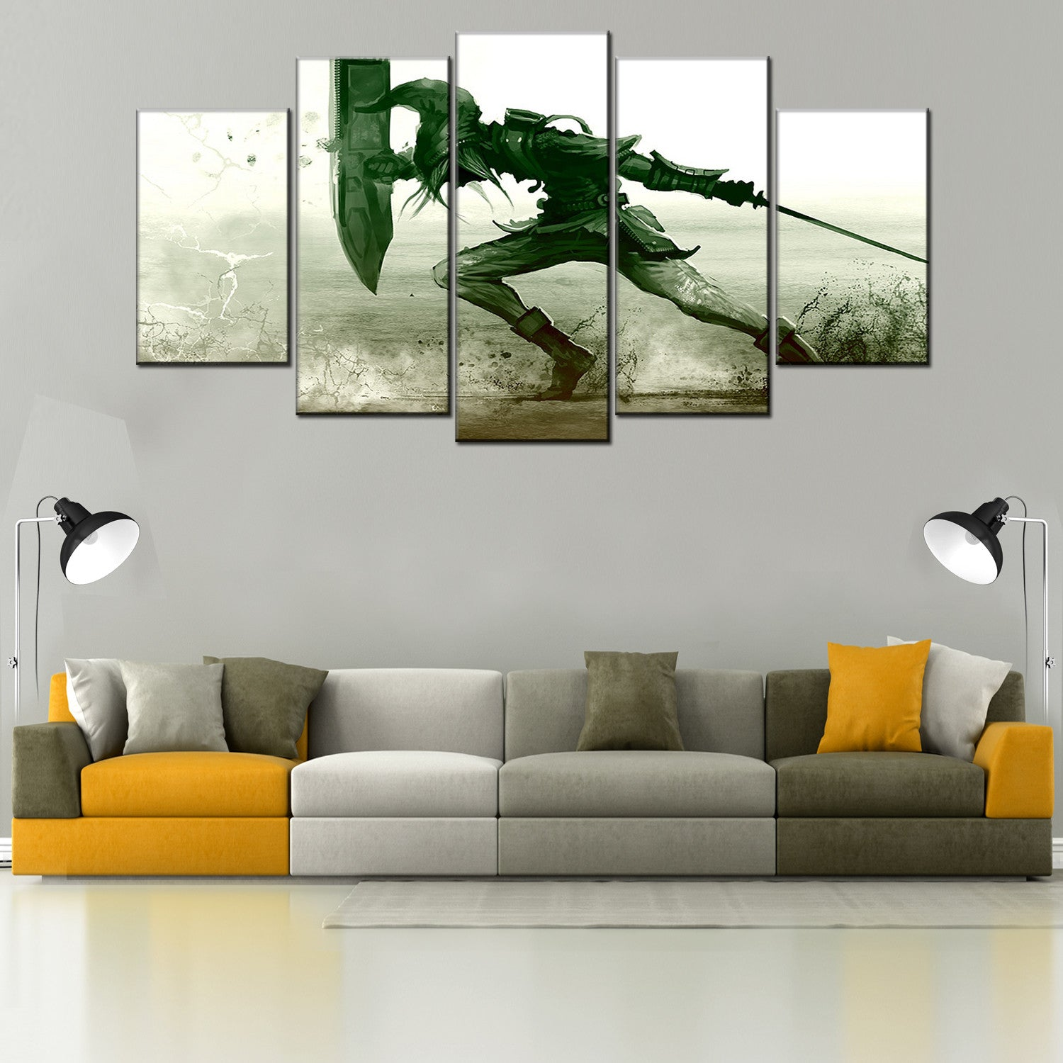 The Legend of Zelda 5 Piece Canvas Wallart - HD Quality
