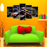 5 Piece American Rifle Canvas Wallart - HD Quality