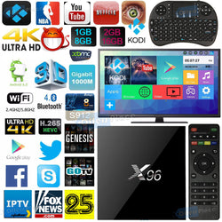 Android Smart TV Box X96 Quad Core