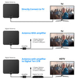 Hot Selling HD Digital Indoor Amplified TV Antenna with 50 Miles Range -Watch FREE HDTV Channels