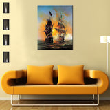 Seascape Sailing Boat Europe DIY Painting Home Art  Pictures For Living Room