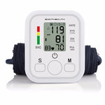 Digital Lcd Upper Arm Blood Pressure Monitor Heart Beat Meter