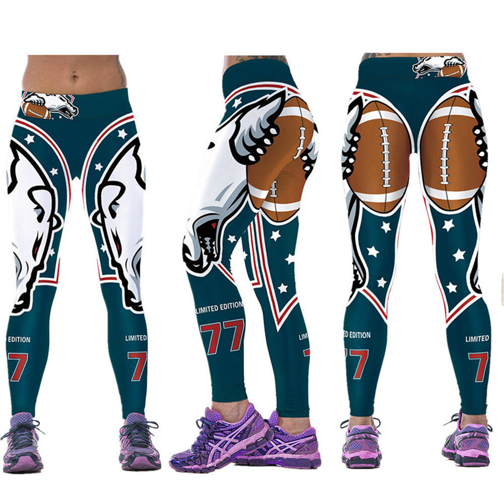 New Arrival Super Hero Sports Fitness Leggings For Women