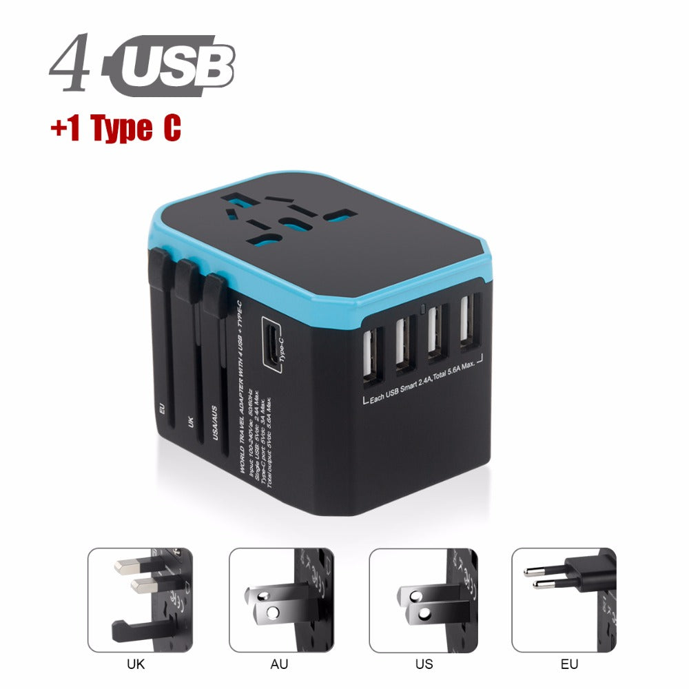 All-in-one International Power Universal Conversion Plug