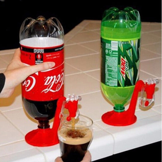 The Magic Tap Saver Soda Bottle Dispenser Party Bar Kitchen Gadgets