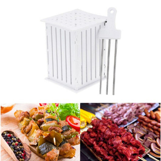 Easy Barbecue Kebab Maker Skewer Machine