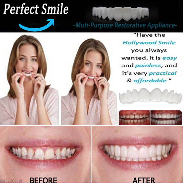 The Amazing Perfect & Confident Smile Fake Tooth Cover