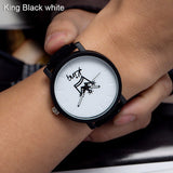 Brand King Queen Wrist Watches For Men And Women