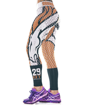 New Arrival Denvor Broncos Sports Leggings For Women