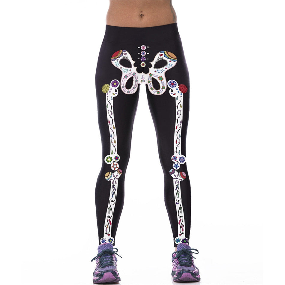 New Arrival Fitness 3D Printed Sporting Leggings For Women