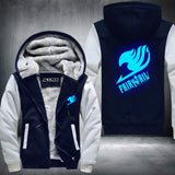 FairyTail Super Warm Thicken Fleece Zip Up Hoodie Jacket