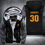 CURRY 30 SUPER WARM THICKEN FLEECE ZIP UP HOODIE JACKET